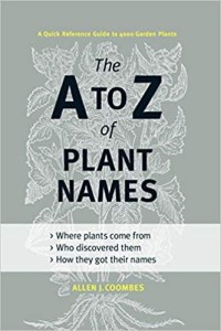 A-Z of plant names